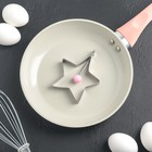 "Форма для яичницы и оладьев ""Звезда малая"" 9х9х1,4 см"