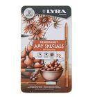 Карандаши художественные набор LYRA Rembrandt Art Specials 12 шт. в металлической коробке L2001123