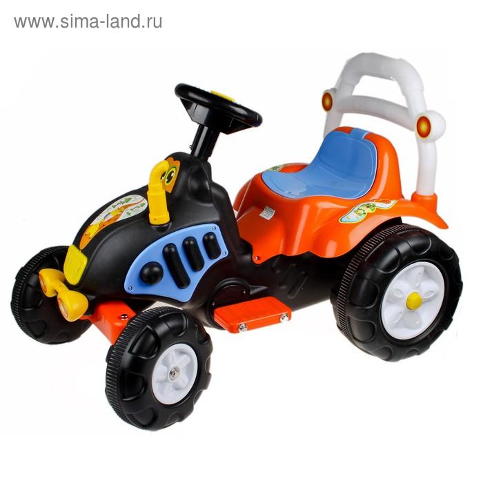 """Электромобиль, """"Трактор"""", акб-1х6V4.5AH, 1 мотор, световые и звуковые эффекты"""
