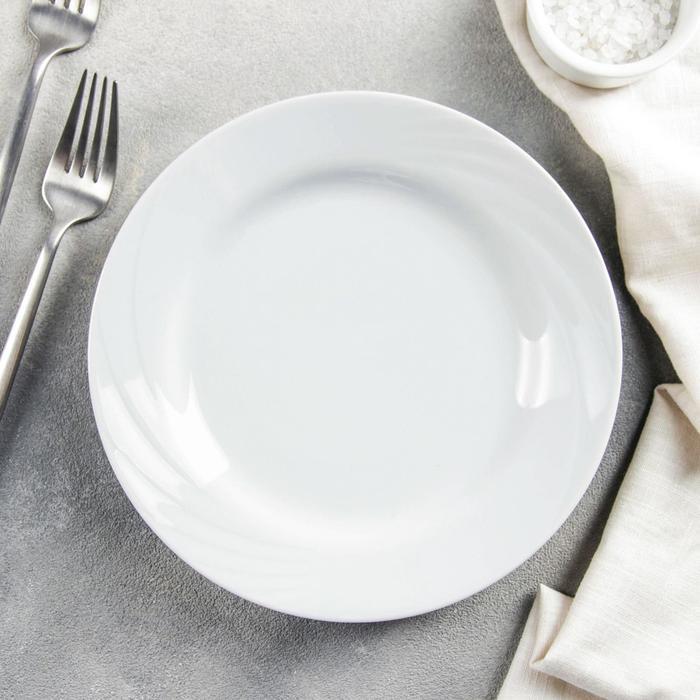 """Тарелка d=20 см мелкая """"Белье"""""""
