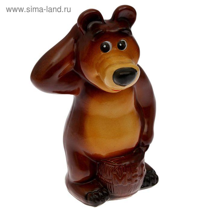 "Копилка ""Медведь"" глянец"