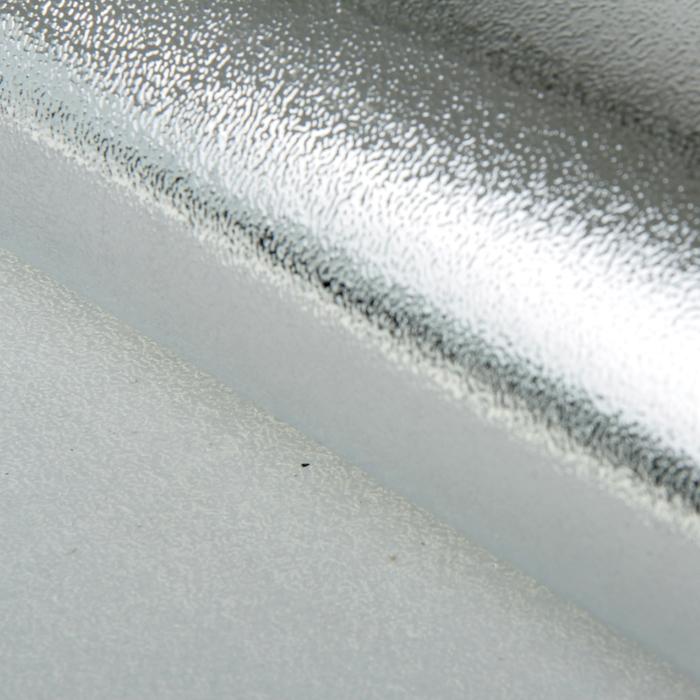 Бумага упаковочная фольгированная, цвет серебро, 50 х 70 см