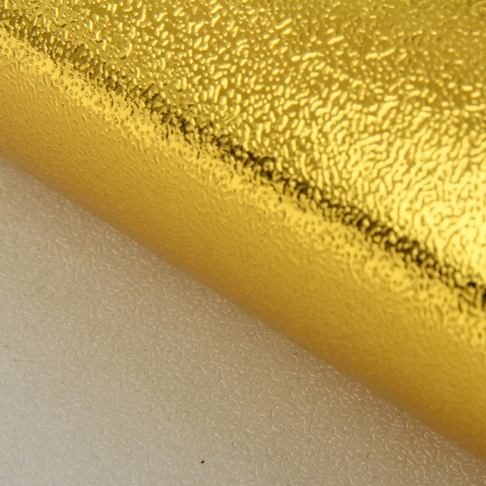 Бумага упаковочная фольгированная, цвет золото, 50 х 70 см