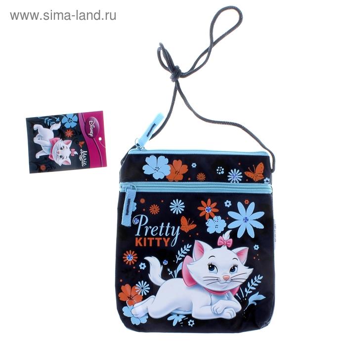 Сумочка детская для девочки Disney Marie Cat 20*17,5*2,5 см
