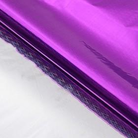 Бумага голографическая 'Зигзаги', цвет малиновый, 70 х 100 см Ош