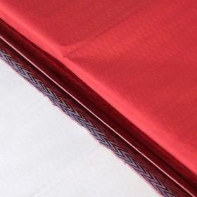 Бумага голографическая 'Зигзаги', цвет красный, 70 х 100 см Ош