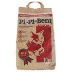 """Наполнитель минеральный комкующийся """"Pi-Pi-Bent Classic"""", бум.крафт-пакет, 10 кг"""