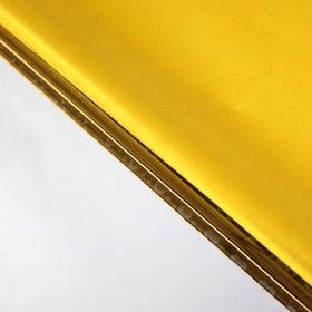 Бумага голографическая 'Сердечки', цвет жёлтый, 70 х 100 см Ош