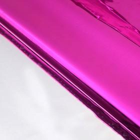 Бумага голографическая 'Сердечки', цвет розовый, 70 х 100 см Ош