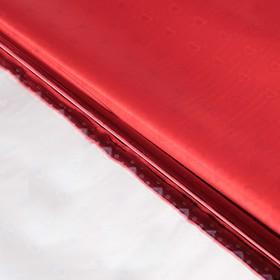 Бумага голографическая 'Сердечки', цвет красный, 70 х 100 см Ош