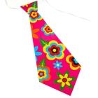 """Карнавальный галстук """"Цветочная поляна"""", набор 6 шт."""