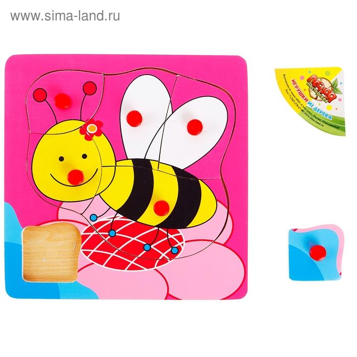 """Рамка - вкладыш """"Весёлая пчелка"""", 6 элементов"""