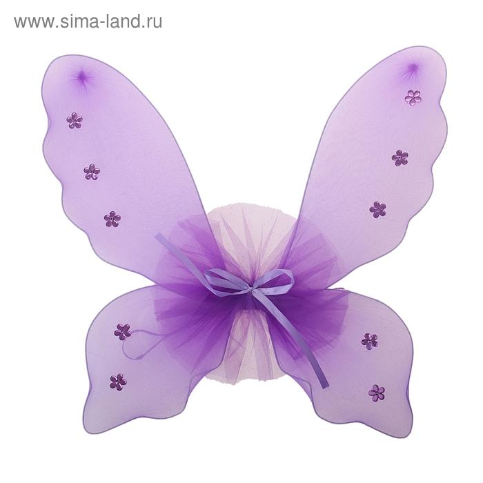 """Карнавальные крылья """"Бабочка"""", со стразами"""