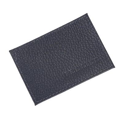 Визитницы, размер 10х6,9 см, цвет синий тёмный флотер