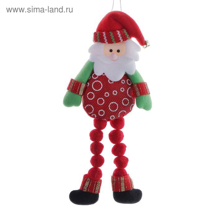 """Мягкая игрушка """"Дед Мороз"""" (ножки-барашки)"""