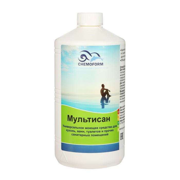 Универсальное моющее средство для санитарных помещений Мультисан 1 л