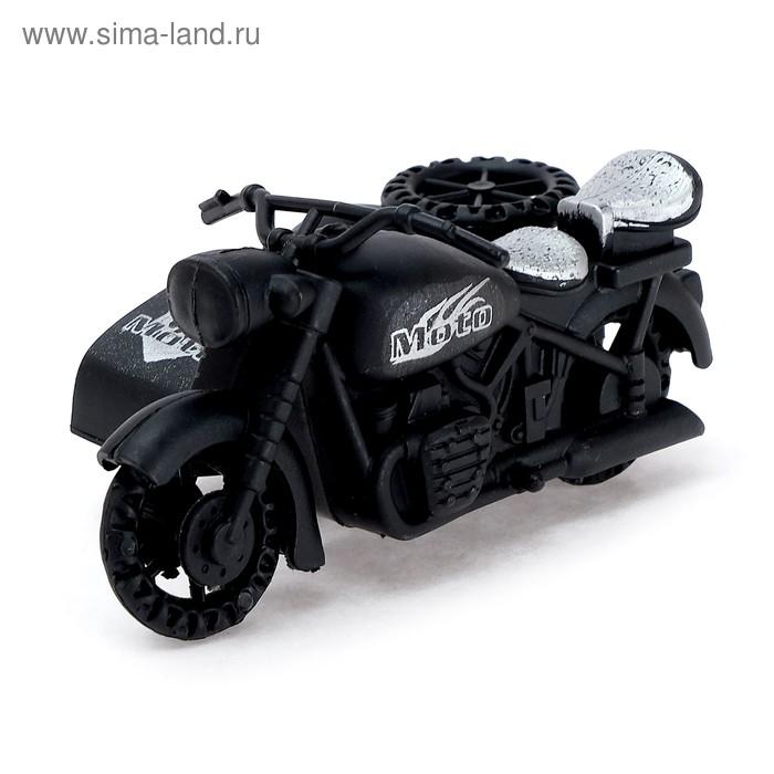 Мотоцикл инерционный с коляской МИКС