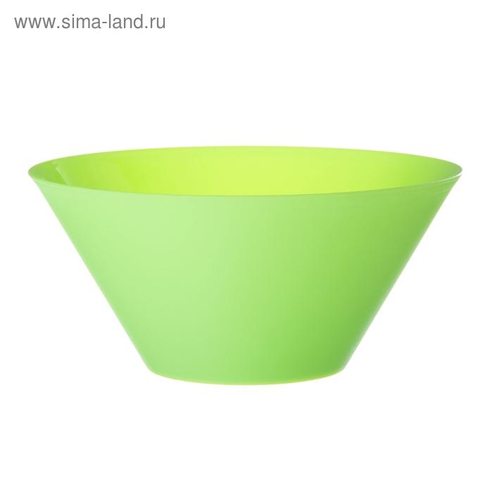 Салатник 1,45 л, цвет салатовый