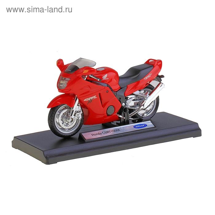 Модель мотоцикла Honda, масштаб 1:18
