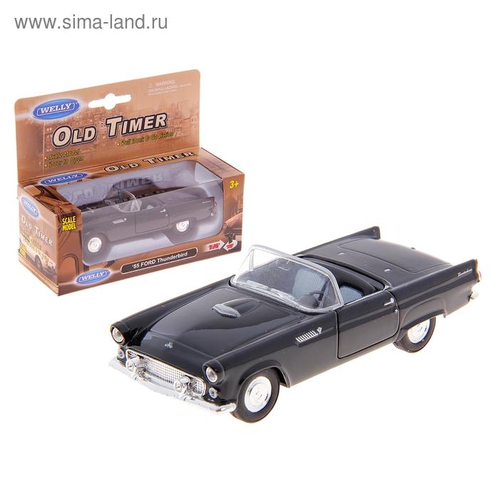 """Машина винтажная """"Ford Thunderbird"""" 1:34-39, цвета МИКС"""