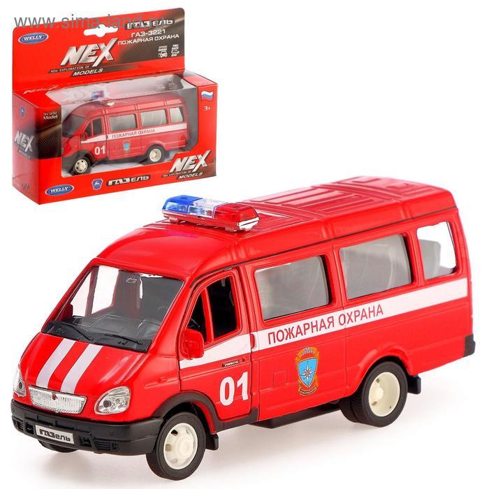 """Модель машины """"ГАЗель. Пожарная охрана"""""""