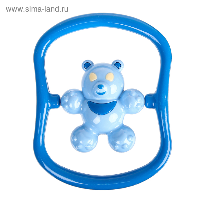 Погремушка «Медвежонок Топ», цвета МИКС