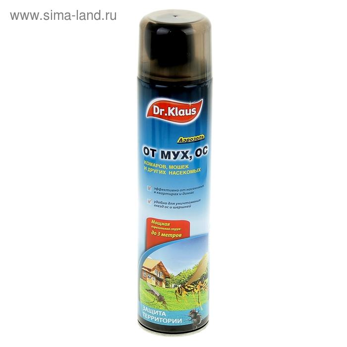 Аэрозоль Доктор Клаус НД от мух, ос и др. летающих насекомых, 600 мл
