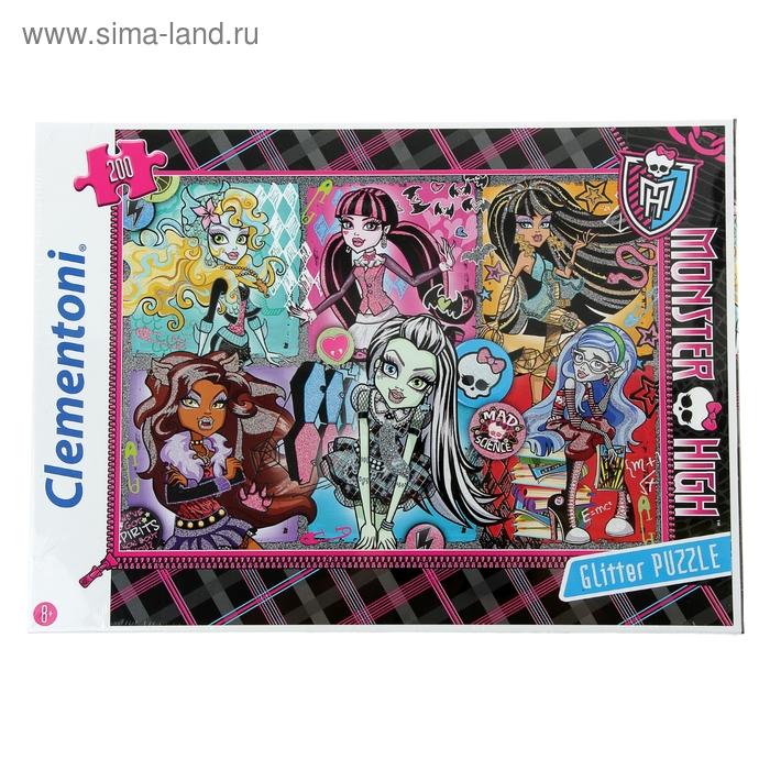 """Пазлы """"Портреты фриков. Monster High"""", 200 элементов"""