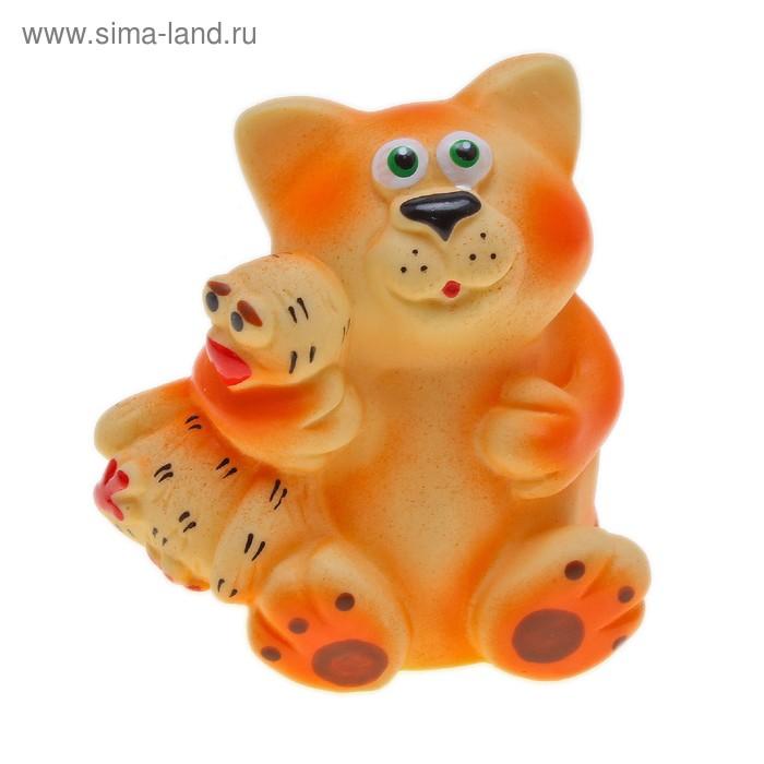 """Резиновая игрушка """"Кот и гусь"""""""