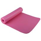 Коврик для йоги 10 мм YK1-10 цвета микс