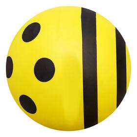 Мяч веселые рисунки d=22см 65гр, цвета МИКС