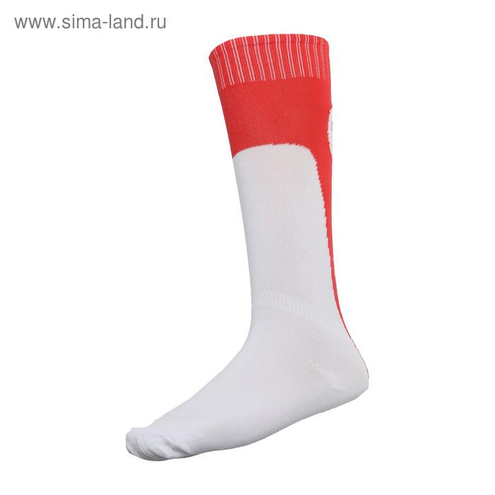 Гетры футбольные c уплотненным носком, размер 40-45, цвета МИКС