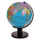 Глобус сувенирный на широкой подставке, d=25 см, h=37 см, политическая карта, русский язык