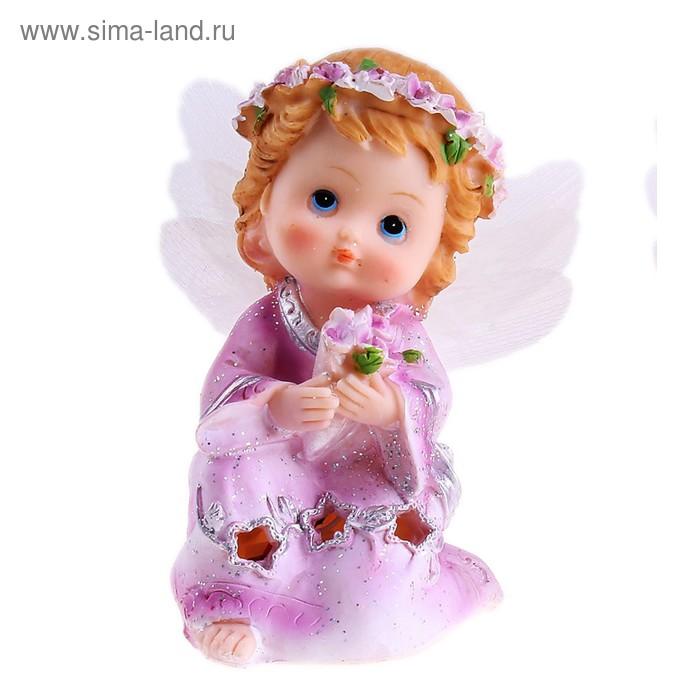"""Сувенир световой """"Ангел в платьице со звёздочками"""" МИКС"""