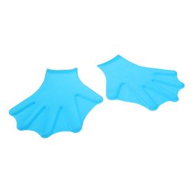 Перчатки для пловца с перепонками SL7-5, взрослые, силикон, цвета МИКС Ош