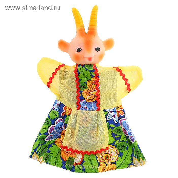"""Кукла - перчатка """"Коза"""""""