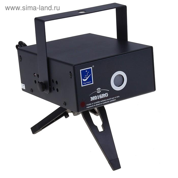 Световой прибор G078 18*7 см, 8 картинок, металл V220