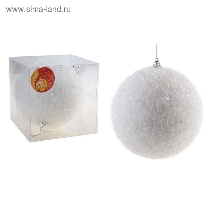 """Новогодний шар """"Сахарный"""""""
