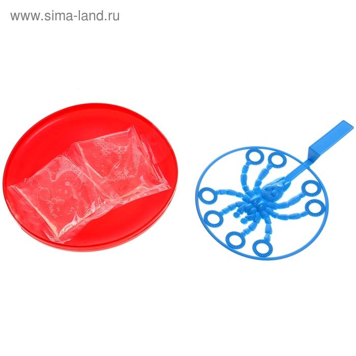 """Мыльные пузыри """"Паук"""", 200 мл., цвета МИКС"""