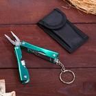 Инструмент многофункциональный 6в1, рукоять металлическая, в чехле