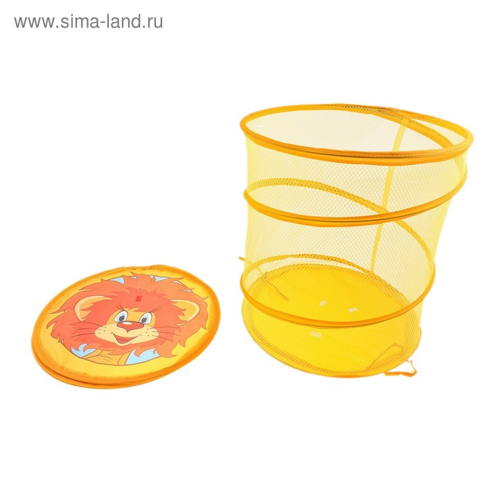 """Корзина для игрушек """"Львенок и Черепаха"""", в пакете"""