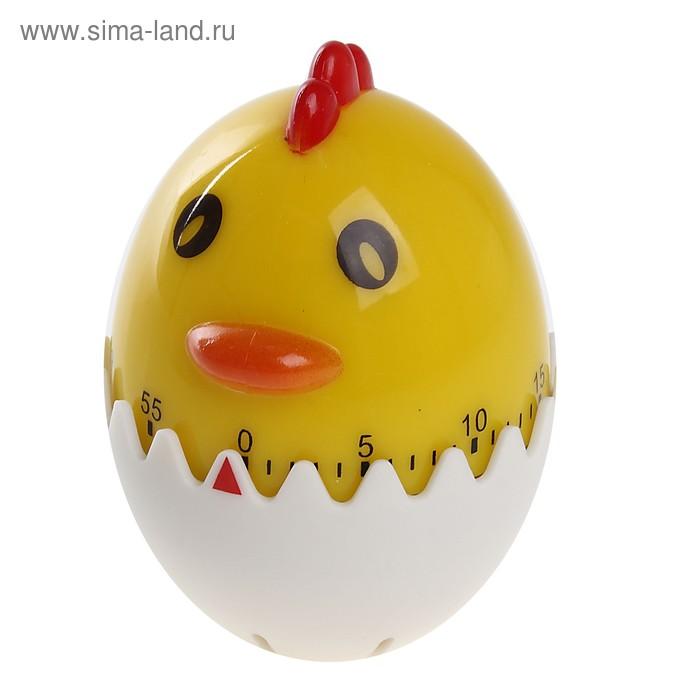 """Таймер кухонный """"Цыпленок в яйце"""" механический"""