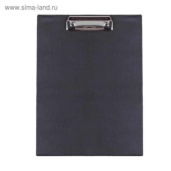 Планшет с прижимом А4, черный