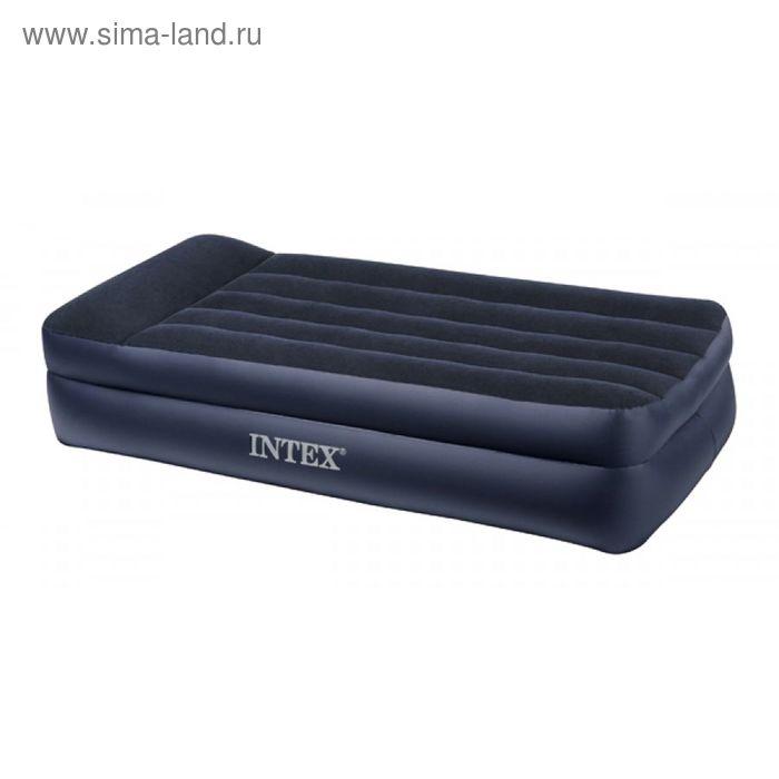 """Кровать надувная с подголовником """"Twin"""""""