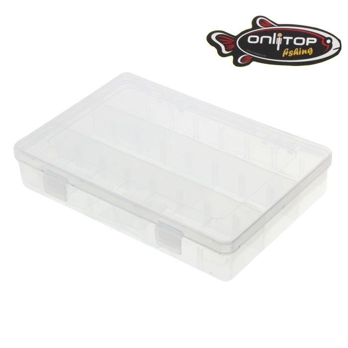 Коробка для крючков и насадок (12 отделений)
