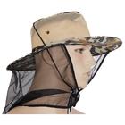 Шляпа рыбака, камуфляж, сетка