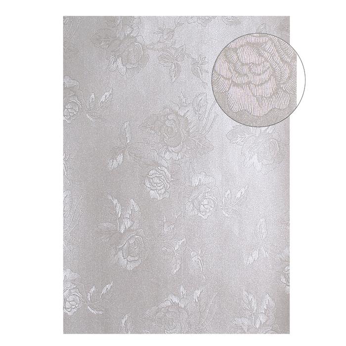 """Бумага """"Розы на серебре"""" А4, набор 20 листов"""