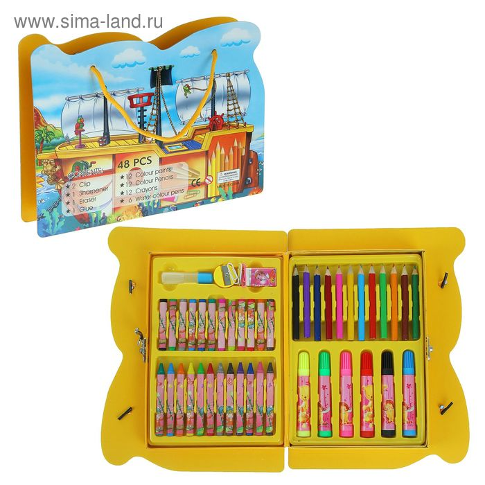 Набор для детского творчества, 45 предметов