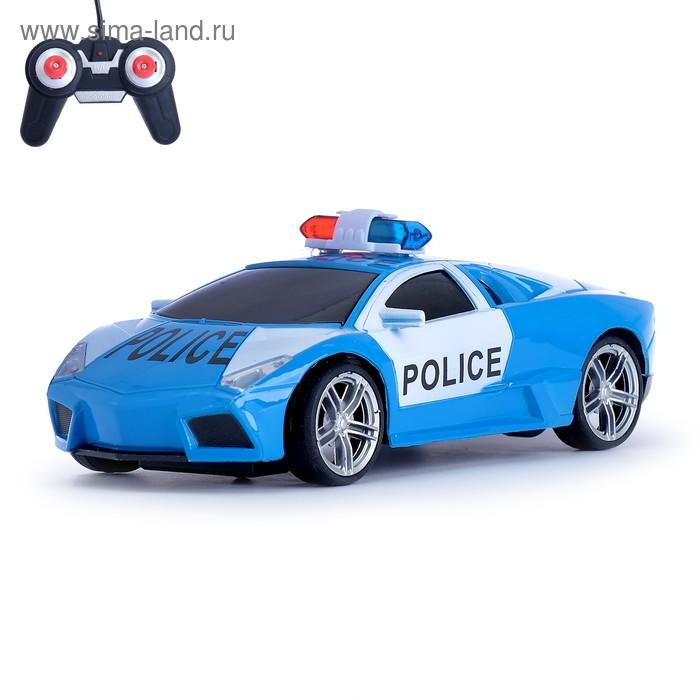 """Машина радиоуправляемая """"Ламбо - Полиция"""", масштаб 1:24, цвета МИКС"""