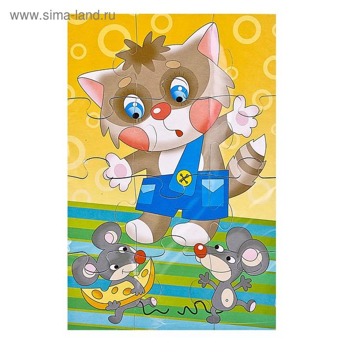 """Мягкий пазл """"Мышки-воришки"""", 12 элементов"""